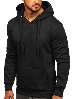 Толстовка мужская с капюшоном черная Bolf 2009