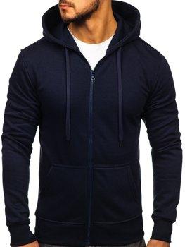 Толстовка мужская с капюшоном чернильная Bolf 2008