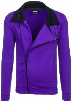 Толстовка мужская BOLF 30S фиолетовая