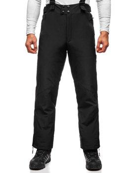 Черные мужские лыжные брюки Bolf BK161