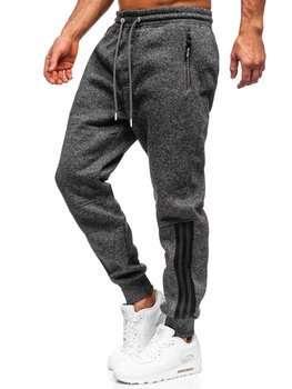 Черные мужские спортивные брюки BOLF TC937