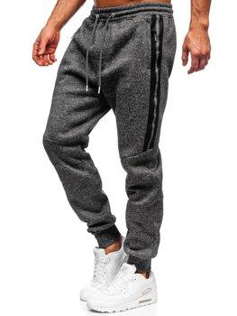 Черные мужские спортивные брюки BOLF TC980