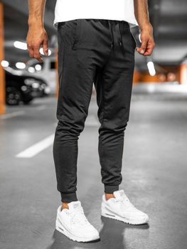 Черные мужские спортивные брюки Bolf 68kK10001