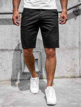 Черные мужские шорты Bolf 6139