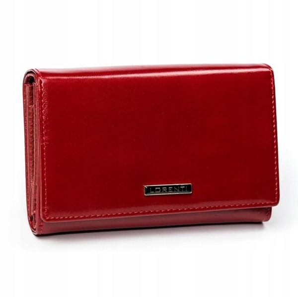 Женский кожаный кошелек красный 2905