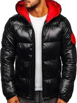 Мужская зимняя куртка черная Bolf 99311
