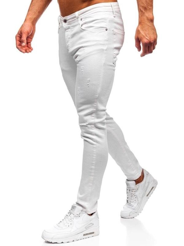 Мужские джинсовые брюки белые Bolf 55118