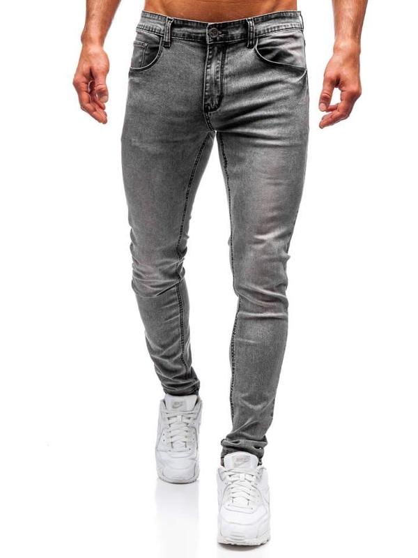 Мужские джинсовые брюки серые Bolf 71831