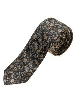 Мужской элегантный галстук черный Bolf K100