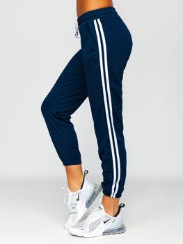 Темно-синие женские шорты Bolf YW01020D