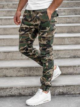 Хаки камуфляж мужские брюки джоггеры-карго Bolf RB8216XT