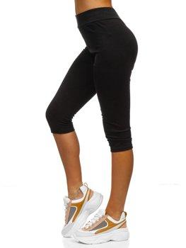 Черные женские шорты Bolf YW01045