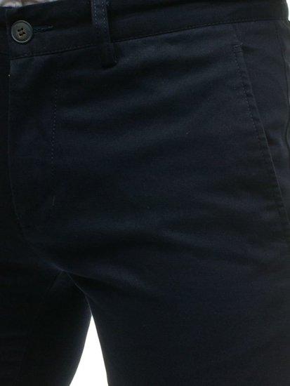 Мужские брюки темно-синие Bolf HO7