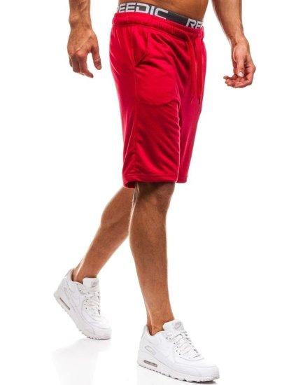 Мужские спортивные шорты красные Bolf KK301