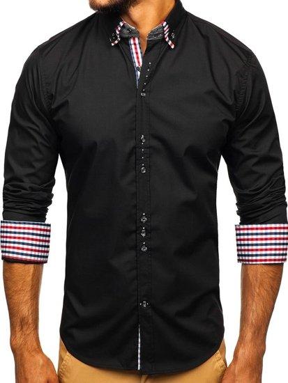 Рубашка мужская BOLF 0926 черная