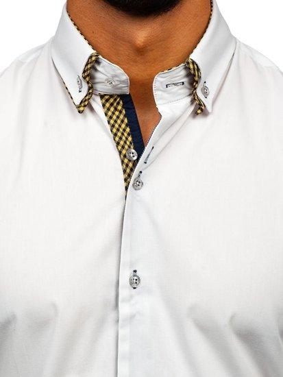 Рубашка мужская BOLF 4708 белая