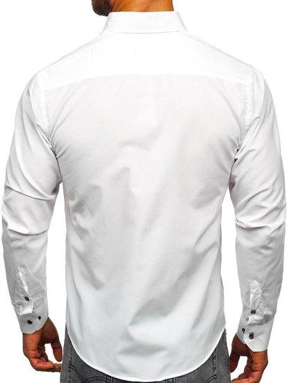 Рубашка мужская BOLF 4711 белая