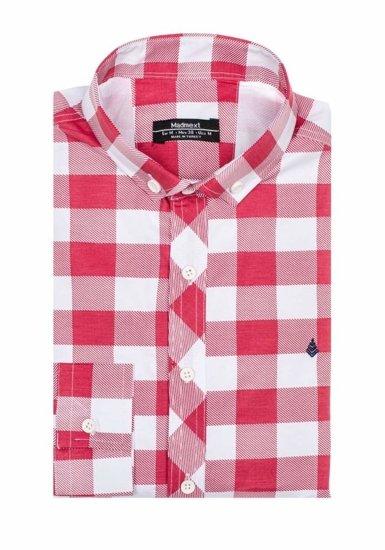 Рубашка мужская MADMEXT 0773 красная