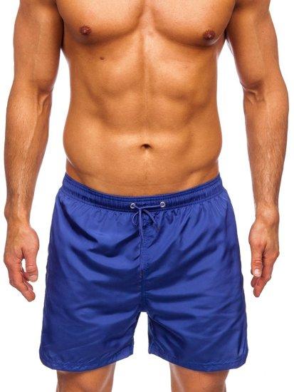 мужские пляжные шорты с кобальтом Bolf YW07002