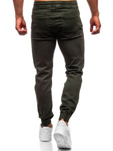 Зеленые мужские брюки джоггеры Bolf CT8808