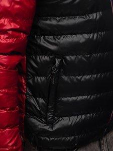 Мужская демисезонная спортивная куртка черная Bolf 1908