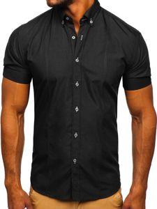 Рубашка мужская BOLF 5535 черная