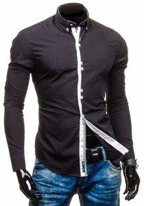 Рубашка мужская BOLF 5814 черная
