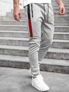 Серые мужские спортивные брюки Bolf K10250