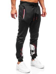 Черные мужские спортивные брюки Bolf K10239