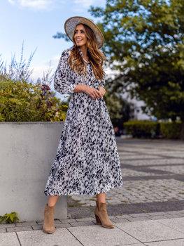Біла сукня жіноча Bolf A468