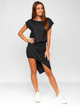 Графітова довга жіноча сукня Bolf 8812