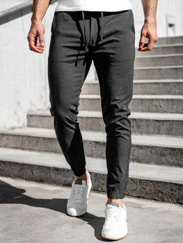 Графітові чоловічі штани джоггери Bolf 0011