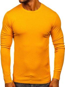 Жовтий чоловічий светр Bolf YY01