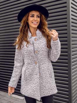 Жіноча пальто біле Bolf 6011-1
