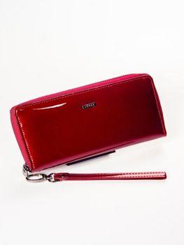 Жіночий шкіряний гаманець червоний 1214