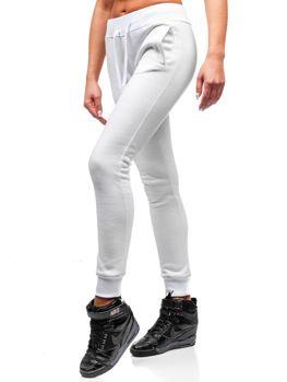 Жіночі спортивні штани білі Bolf 77001