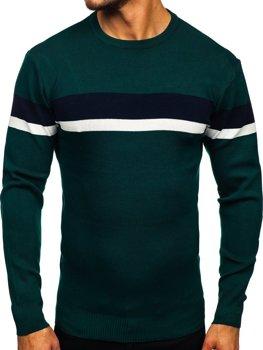 Зелений чоловічий светр Bolf H2072