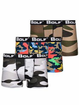Комплект чоловічих боксерів мультиколор Bolf 0953-3P 3 шт.