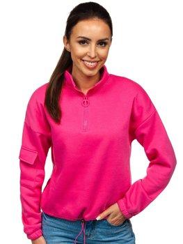Рожева жіноча толстовка Bolf KSW2029