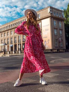 Рожеве сукня жіноча Bolf A468