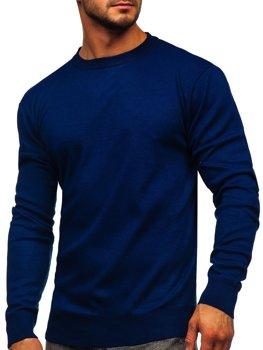 Светр чоловічий темно-синій Bolf GFC01