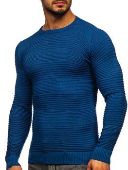 Синій чоловічий светр Bolf 4608