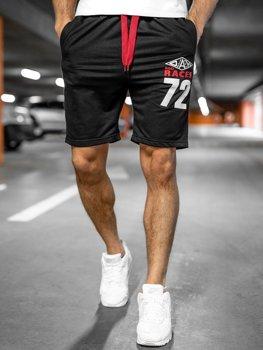 Спортивні чоловічі шорти чорні Bolf EX05