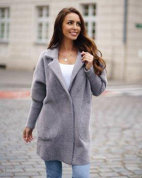 Сіре жіноче пальто Bolf 7108