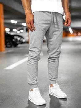 Сірі чоловічі спортивні штани Bolf 68K10001