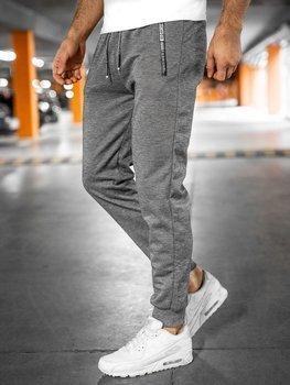 Сірі чоловічі спортивні штани Bolf JX8735
