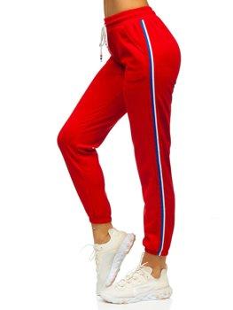 Червоні жіночі спортивні штани Bolf YW01020