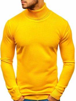 Чоловіча водолазка жовта Bolf 2400