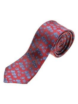 Чоловіча елегантна краватка бордова Bolf K107