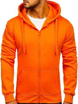 Чоловіча толстовка з капюшоном помаранчевий Bolf 2008